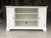 White entertainment center for sale in Fort Bragg, North Carolina