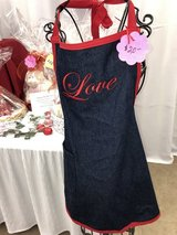 Valentines Day Bear/Candy Gift Baskets, aprons, pillows in Alamogordo, New Mexico