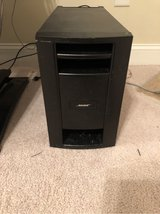 Bose system & sub & speakers & remote in Cherry Point, North Carolina
