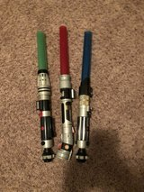 lightsabers in 29 Palms, California