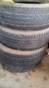 Set of used tires in Cleveland, Texas