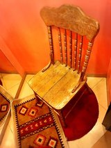 antique chair in Okinawa, Japan