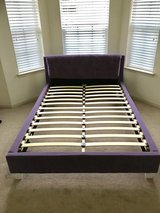 Purple Full/Queen Bed Frame in Conroe, Texas