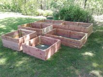Raised Cedar Garden Beds in Fort Leonard Wood, Missouri