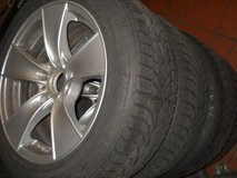 """set of 17"""" wheels BMW X1, 3 +4-Series rims and tires*good condition in Ramstein, Germany"""