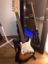 electric guitar with accessories in Ramstein, Germany