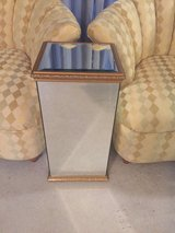 Gorgeous Art Deco Style Beveled Mirrored SideTable/Stand in Morris, Illinois