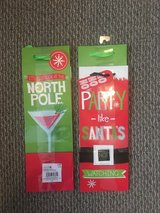New!  Christmas Wine Gift Bags 2-pack in Naperville, Illinois