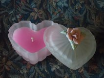 scented heart candle in Naperville, Illinois