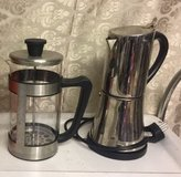 220 coffee & expresso maker & French press in Ramstein, Germany