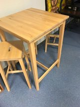Tall Table & Stools in Ramstein, Germany