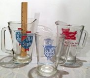 3 Vintage Glass Beer Pitchers in Naperville, Illinois