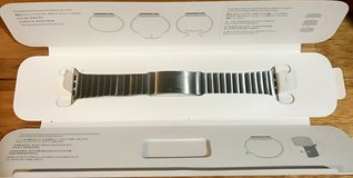 Watch Band—Apple Watch 42mm/44mm (stainless steel) Link Bracelet (Note: band only) in Okinawa, Japan