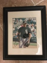Chicago White Sox Carlos Lee El Caballo Signed 8x10 Framed in Joliet, Illinois
