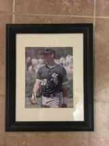 Chicago White Sox Magglio Ordonez Framed Signed 8x10 in Joliet, Illinois