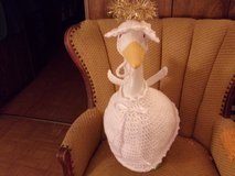 Angel Goose Crochet Outfit Lawn Geese Clothes in Belleville, Illinois