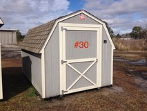 8x12 Barn Storage Building Shed DISCOUNTED!! in Moody AFB, Georgia