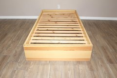 Twin Size Bed From Ikea - Wooden Frame in Spring, Texas