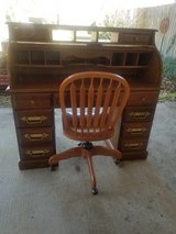 Roll Top Desk & Chair in The Woodlands, Texas