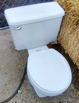 Good solid working American Standard toilet in 29 Palms, California