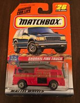 Matchbox Snorkel Fire Truck in Naperville, Illinois