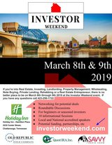 Investor Weekend -- Chattanooga March 8 -9 in Fort Campbell, Kentucky