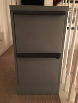 Two Drawer Metal File Cabinet in Joliet, Illinois