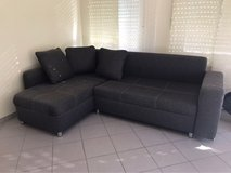 Convertible Sofa (bed) Like New! in Ramstein, Germany