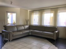 Livingroom Sectional Leather Sofa in Ramstein, Germany