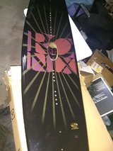 Ronix Faith Hope Love Wakboard and Halo open toe bindings $350 for the set. in Chicago, Illinois
