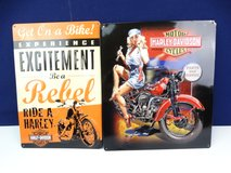 Harley Davidson Metal Wall Signs in Pearland, Texas
