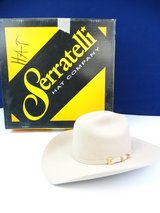 Serratelli Men's Silverbelly 6X Fur Felt Cowboy Hat in Pearland, Texas