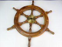 Ship Captain's Wheel Wall Decor in Pearland, Texas
