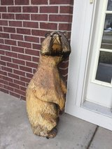 Chainsaw Carved Bear in Naperville, Illinois
