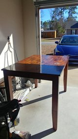 Solid Wood Pub Height Table in Cherry Point, North Carolina