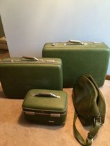 Vintage Green American Tourister Luggage in Naperville, Illinois