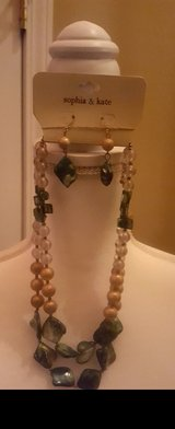 Earring and Necklace Set in Camp Lejeune, North Carolina