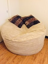 Memory Foam Bean Bag- King size bed inside! in Okinawa, Japan