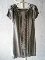 grey sweater dress size 6-8 (US) 122/128 (EU) in Stuttgart, GE