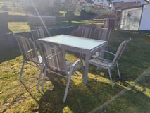 Patio set in Ramstein, Germany