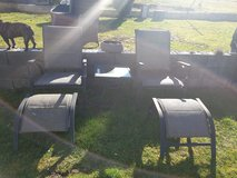 .Patio set in Ramstein, Germany