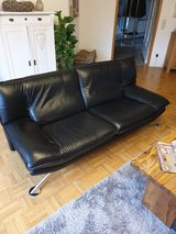 Leather couch and big comfortable chair in Ramstein, Germany