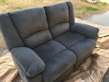 Reclining love seat in Camp Lejeune, North Carolina