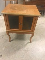 Small Cabinet Needs refinished in Chicago, Illinois