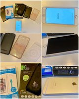 iphone 6 128GB w/ External Battery Case & Accessories in Stuttgart, GE