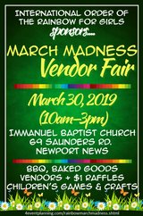 March Madness Vendor Fair in Norfolk, Virginia