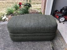 Green chair and ottoman - great shape in The Woodlands, Texas