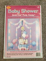 Baby shower table canopy decor in Clarksville, Tennessee