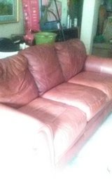 Leather couch in Warner Robins, Georgia