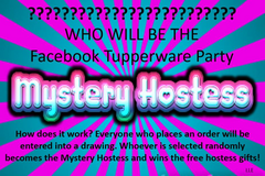 Tupperware Mystery Hostess Facebook Party in Fort Knox, Kentucky